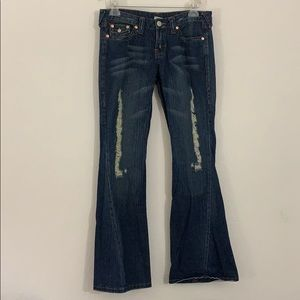 True religion ripped jeans-30